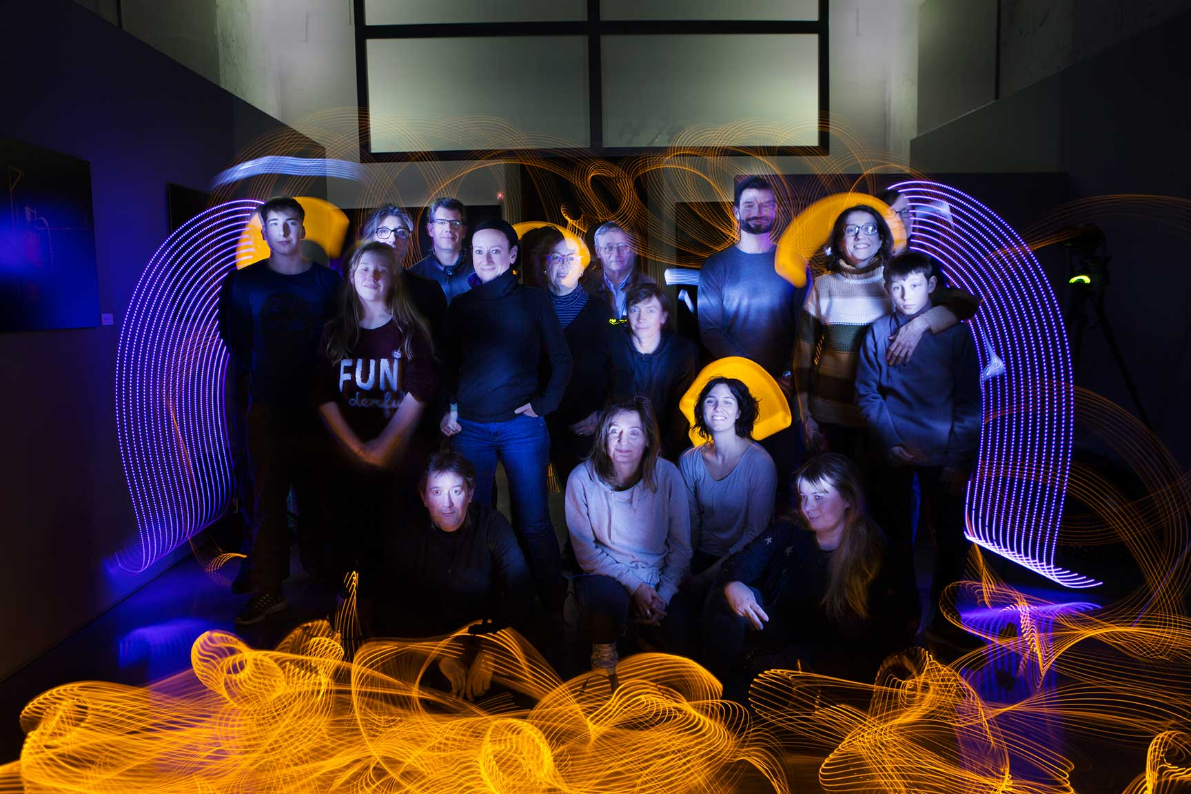 Ateliers Light Painting